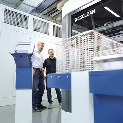 Ecoclean Test Centers